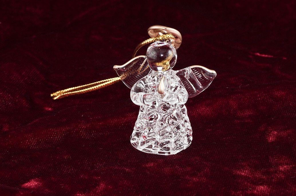 Skleněná figurka Andílek