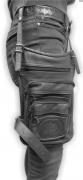 3. Kožená stehenní taška na nohu