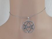 2.Stříbrný přívěsek Unikurslální Hexagram