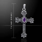 3..Stříbrný přívěsek Keltský kříž  JPO10