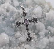 2.Stříbrný přívěsek Keltský kříž  JPO10