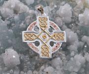 4.Stříbrný přívěsek Keltský kříž 250510