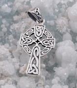 2.Stříbrný přívěsek Keltský kříž 250517
