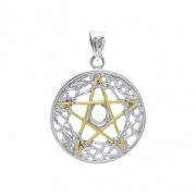 Přívěsek Pentagram s Keltskými uzly
