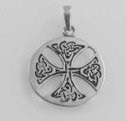 Přívěsek - Keltský kříž 1