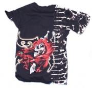 Detail obrázku, tričko Smrt