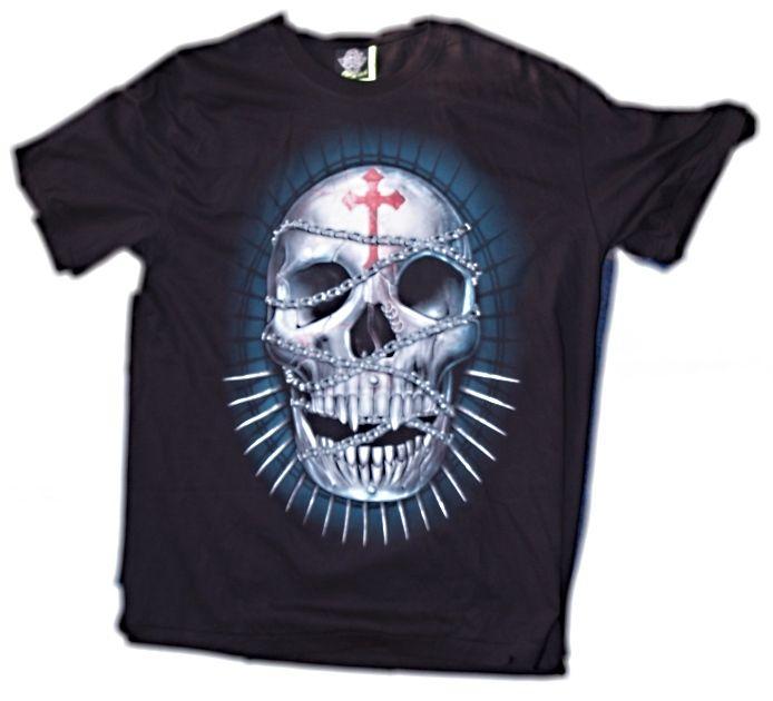Značkové tričko Lebka Hudraga