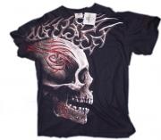 70ab4a42490 Černé značkové tričko s potiskem Tygra RockChang