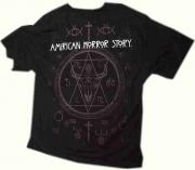 2. Tričko American Horror Store, zadní část