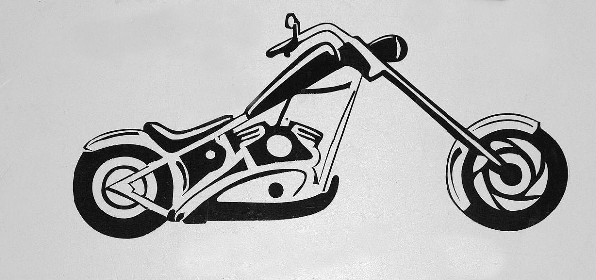 Samolepka Choppers nr. 01