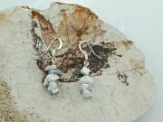 2. Náušnice z přírodního kanene Magnezitu