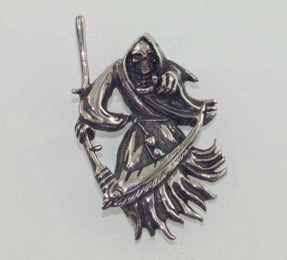 Přívěsek z chirurgické oceli Potník Smrti II.