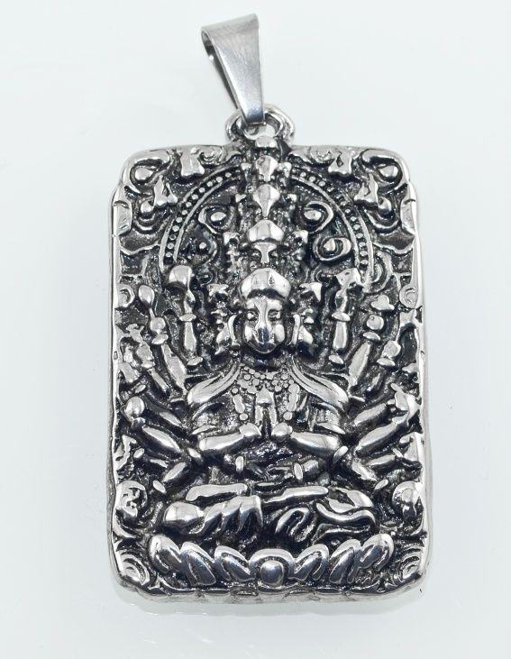 Přívěsek z chirugické oceli Bohyně Gayatri