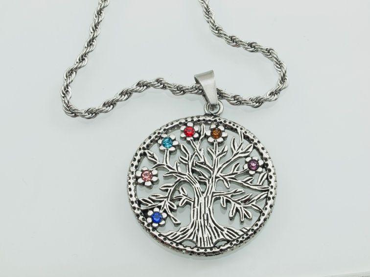 Přívěsek z chirurgické oceli Strom života nr. 014 RiverSperky