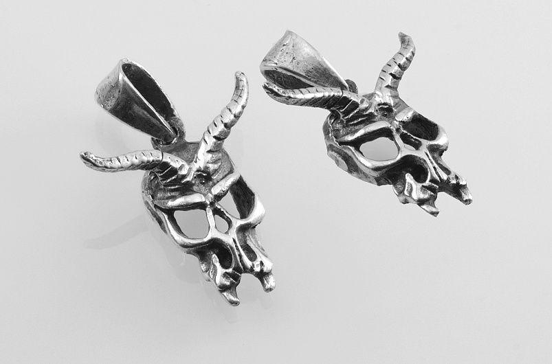Stříbrný přívěsek Čert-Ďábel