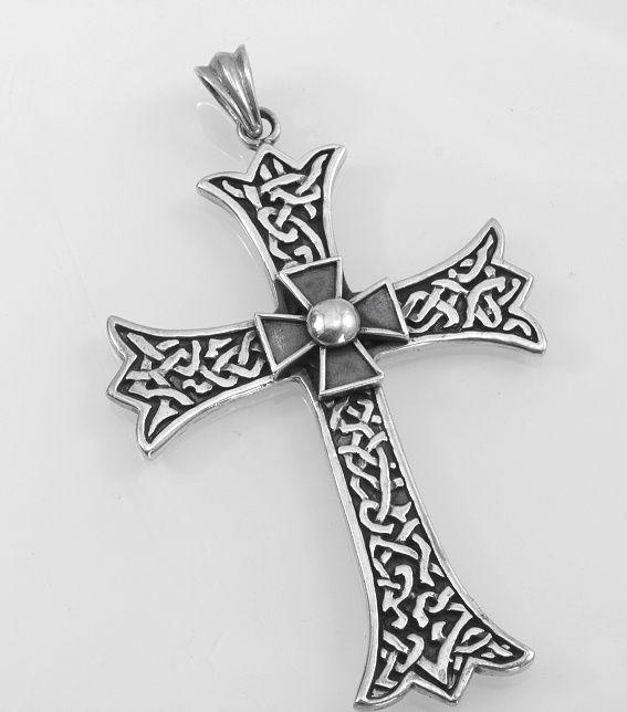 Stříbrný přívěsek Kříž nr. 011