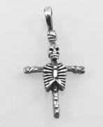 Přívěsek Smrtka na kříži