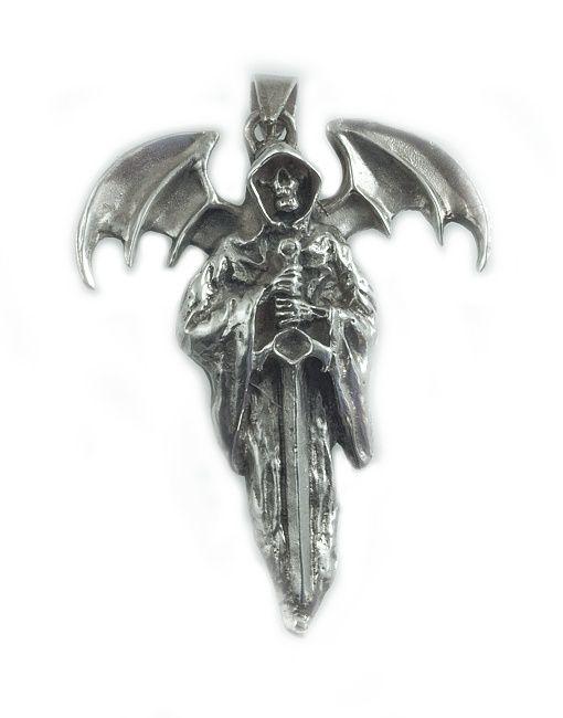 Stříbrný přívěsek Smrt Anděl pomsty