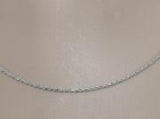 3.Stříbrný řetízek Klarrine