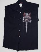 1.Značková košile bez rukávů Viking Warrior