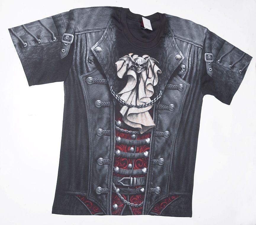 Tričko krátky rukáv Goth Wrap B