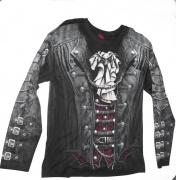 Tričko Goth Wrap