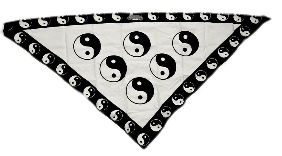 Textilní šátek na obličej Jing Jang 2