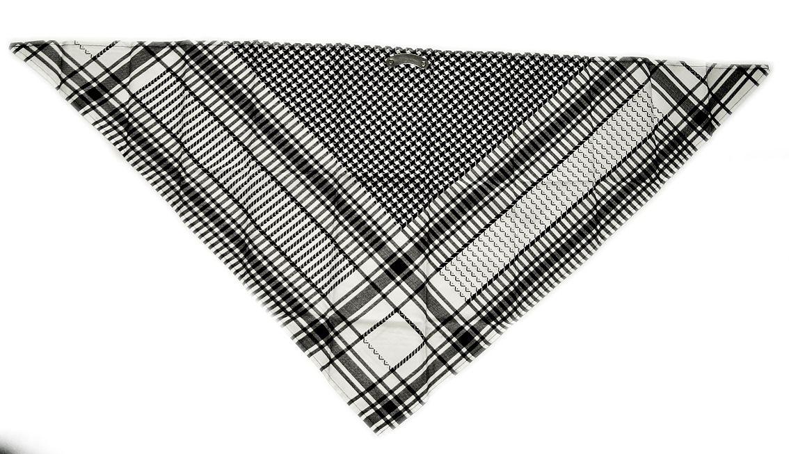 Bavlněný šátek na obličej Tvary