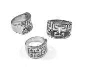 Dámský prsten z chirurgické oceli Alhambra