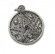Přívěsek Pentagram a Strom života 2
