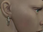 2. 1. Náušnice, chirurgická ocel Kruhy nr. 07