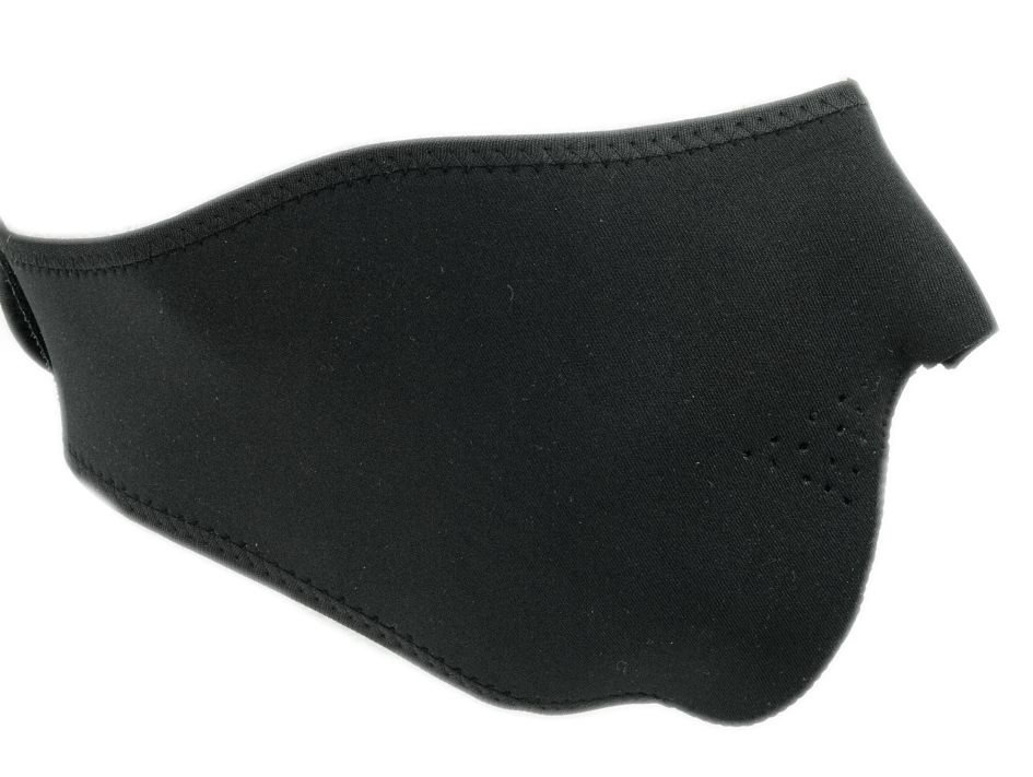 Černá neoprénová maska