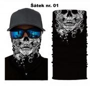 Multifunkční šátek  Balklavangana