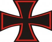 Nálepka Maltézský kříž