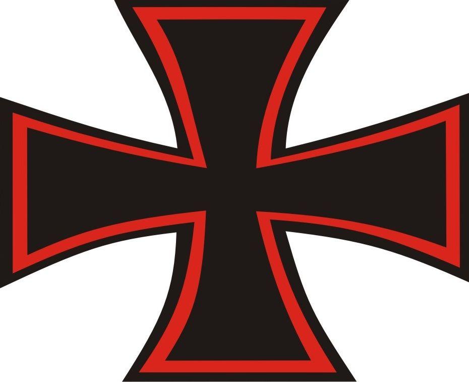 Nálepka Válečný Maltézský kříž