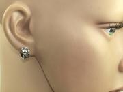 2. Náušnice chirurgická ocel Keltský kroužek