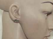 2.Náušnice, chirurgická ocel Silniční motorka
