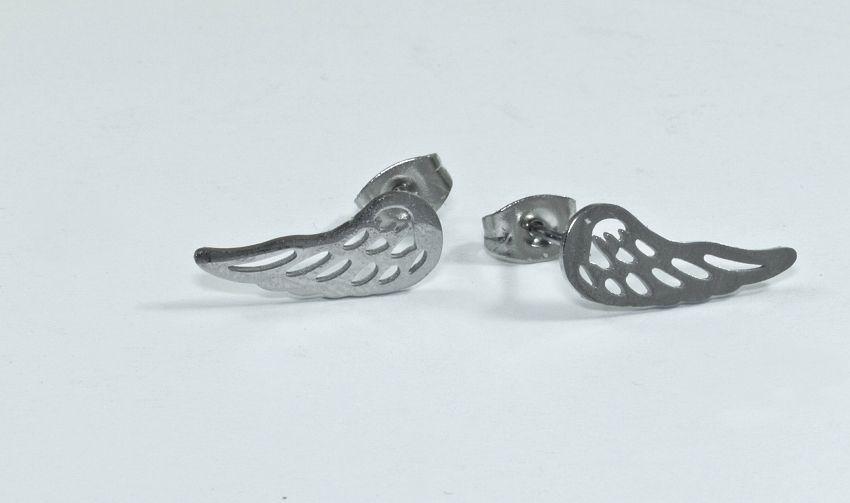 1. náušnice chirurgická ocel křídlo nr. 05