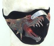 Neoprénová maska Drak
