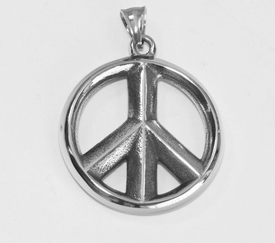 Výrazný šperk z chirurgické oceli, symbol volnosti Hippes no.02 RiverSperky