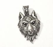 2.1.Přívěsek z řetízkem Ódinuv vlk