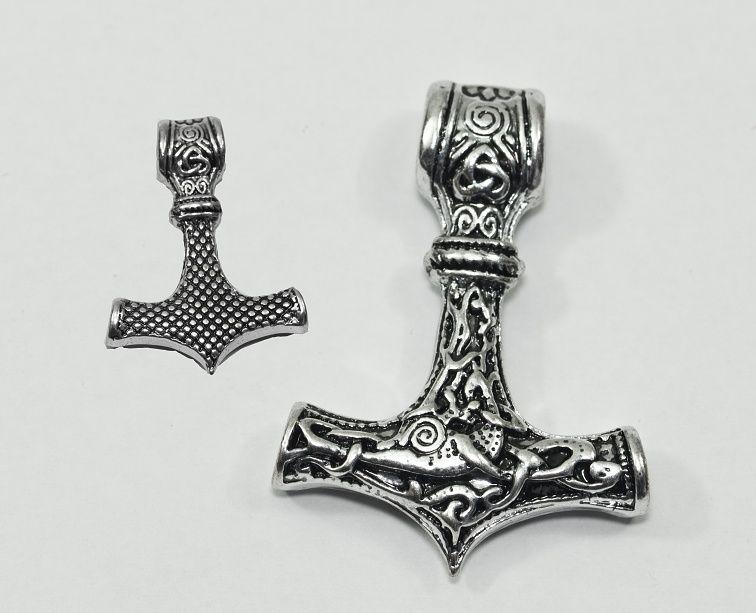 Přívěsek, chirurgické ocel Thórovo kladivo nr. 0133