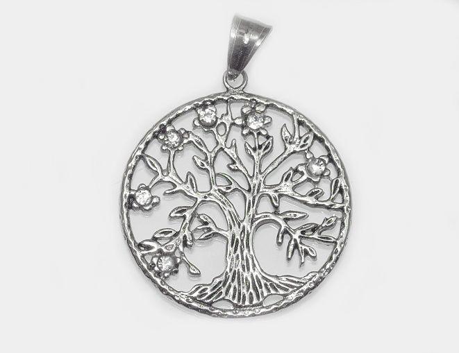 Přívěsek z chirurgické oceli Strom života nr. 018