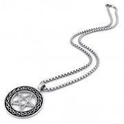 Přívěsek Pentagram včetně řetízku
