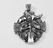 1. Přívěsek. anglický cín Keltský kříž nr. 017