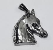 Přívěsek chirurgická ocel Hlava koně nr. 03
