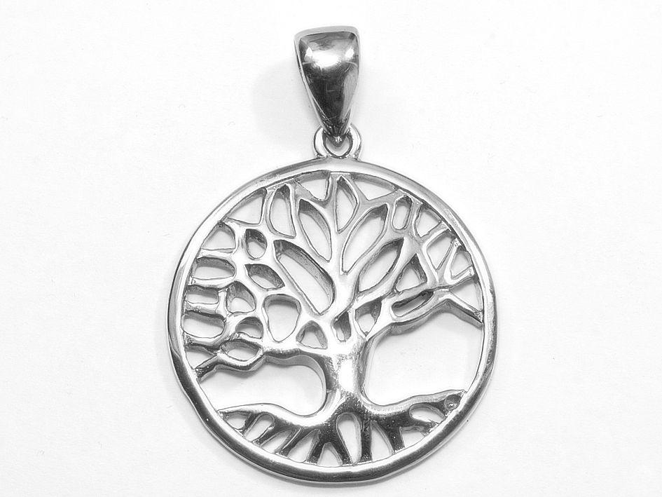 Riveršperky, přívěsek chirurgická ocel Strom života nr. 08