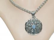 5.4. Přívěsek z chirurgické oceli stříbrný  Vegsvír