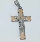 Přívěsek Křesťanský kříž no.011