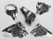 Prsten Vlčí hlava 02